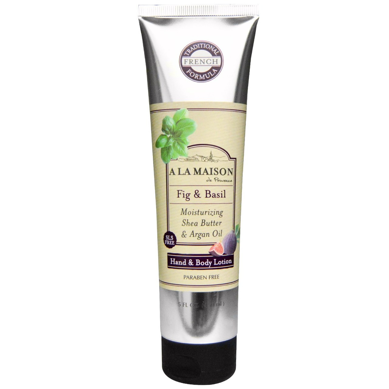Hand body lotion fig basil 5 oz 150 ml a la maison for A la maison lotion