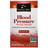 Blood Pressure Herbal Tea Caffeine Free 20 Tea Bags 1.06 oz, Bravo Teas & Herbs