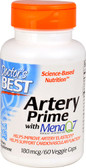 Artery Prime with Mena Q7 180 mcg 60 VCaps, Doctor's Best