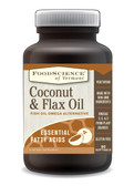 Coconut & Flax Oil 90 sGels, FoodScience