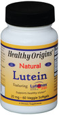 Lutein Natural 20 mg 60 Veggie sGels, Healthy Origins