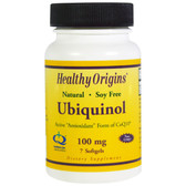 Ubiquinol 100 mg 7 sGels, Healthy Origins