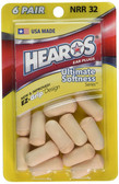 Ear Plugs Ultimate Softness Series High Protection NRR 32 6 Pair, Hearos