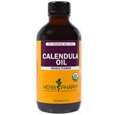 Organic Calendula Oil 4 oz (120 ml), Herb Pharm