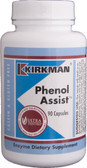 Phenol Assist 90 Capsules, Kirkman Labs