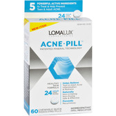 Acne Pill 60 Chewable Quick Dissolving Pills, Loma Lux Laboratories