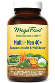Multi for Men 40 + 120 Tabs, MegaFood