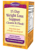 15-Day Weight Loss, Cleanse & Flush  60 Tabs, Nature's Secret