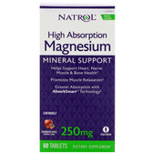 High Absorption Magnesium Natural 60 Chews, Natrol