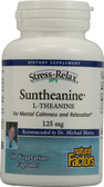 Stress-Relax Suntheanine L-Theanine 125 mg 60 VCaps, Natural Factors