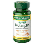 B-Complex Time Released 125 Coated Tabs, Nature's Bounty