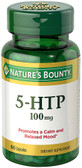 5-HTP 100 mg 60 Caps Nature's Bounty, Mood