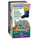 Children's Chewable Multi-Vitamin/ Mineral Grape 180 Animals, Nature's Plus