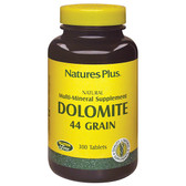 Dolomite 44 Grain 300 Tabs, Nature's Plus