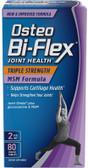 Joint Health Triple Strength + MSM Formula 80 Coated Tabs, Osteo Bi-Flex