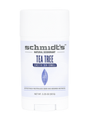 Sensitive Skin Formula Tea Tree 3.25 oz (92 g), Schmidt's Natural Deodorant