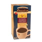 Herbal Coffee Dark Roast Organic Dandelion Caffeine Free 25 Tee-Bags, Teeccino
