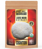Lions Mane Extract Real Mushrooms 2.2 oz, for Coffee and Tea