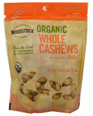 Organic Whole Cashews 7 oz, Woodstock