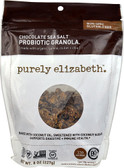 Probiotic Granola No Gluten Chocolate Sea Salt 8 oz, Purely Elizabeth