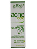 Alba Botanica Acnedote Invisible Treatment Gel 0.5 oz, Acne