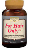 For Hair Only 50 Tabs, Only Natural, men & women