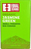Organic Green Tea Jasmine Green 20 Tea Bags, Equal Exchange