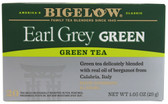Green Tea Earl Grey 20 Tea Bags, Bigelow Tea