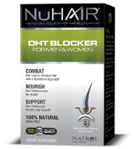 NuHair DHT Blocker for Men & Women 60 Tabs Natrol, Hair Loss & Thinning Hair