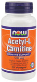 Acetyl L-Carnitine 500 mg 50 Caps, Now Foods, Cognition