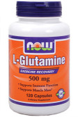 Now Foods Glutamine 500 mg 120 Caps, Muscle Mass