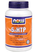 Now Foods Double Strength 5-HTP 200 mg 120 Caps, Mood Support