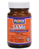 SAM-e 100 mg 30 Enteric-Coated Tabs, Now Foods SAMe, Joints