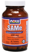 SAM-E 400 mg 60 Tabs Now Foods, Joints & Stress