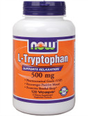 Now Foods L-Tryptophan 500 mg 120 vCaps, Relaxation
