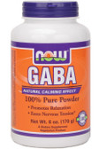 Now Foods Gaba Powder 6 oz, Stress, Relaxation