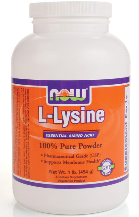 how to take lysine for cold sores