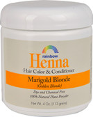 Henna Hair Color Conditioner Marigold Blonde Golden Blonde 4 oz Rainbow Research