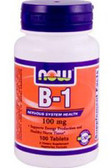 B-1 100 mg 100 Tabs, Now Foods Vitamin