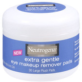 Extra Gentle Eye Makeup Remover Pads 30 Pads, Neutrogena