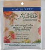 Aromatherapy Herbal Mineral Baths Restful Sleep 3 oz, Nature's Alchemy