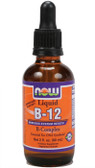 Now Foods Vitamin B-12 Liquid B-Complex 2 oz, Energy