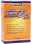 Now Foods B12 Instant Energy 75 Packtes