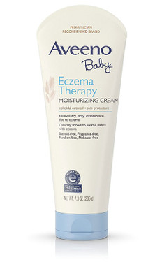 Baby Eczema Therapy Moisturizing Cream 7.3 oz, Aveeno