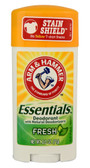 Essentials Deodorant Fresh 2.5 oz, Arm & Hammer