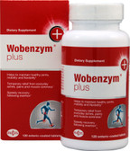 Plus 120 Enteric Coated Tabs, Wobenzym