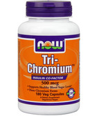 Now Foods TRI-Chromium 500 mcg Cinnamon 180 Caps