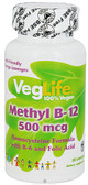 Methyl B12 Orange 500 mcg 50 Loz, VegLife