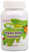Vegan Kids Multiple Berry 60 Chews, VegLife