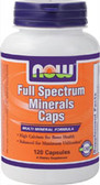 Full Spectrum Mineral Caps  120 Caps, Now Foods